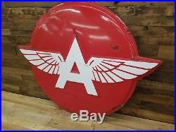 Associated Flying A TYDOL. PORCELAIN sign original