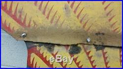 Big Old Vintage Porcelain Shell Gas Oil Sign 46 By 46. (a)