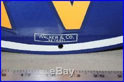 Chevrolet Chevy Super Service Dealership Porcelain Metal Neon Sign Skin Walker