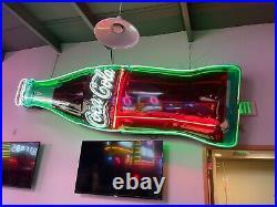Ford Sign Porcelain neon dealership automotive gas oil