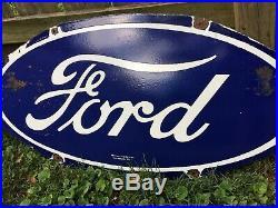 Large Ford Porcelain Sign 54