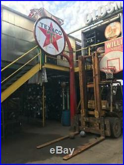 Metal And Porcelain texaco sign