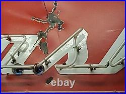 Nash Porcelain Neon Sign Vintage Collecatable Man Xabe Garage Decor Gas Oil