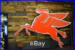Original Mobil Pegasus Porcelain Socony Gas Station Advertising Sign Will Ship