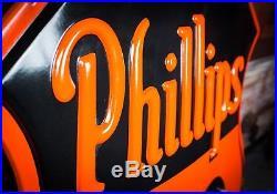 Original Phillips 66 Porcelain Neon Sign DSP WOW