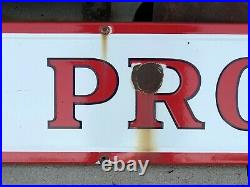 Rare Original LARGE Vintage SKELLY PRODUCTS Sign PORCELAIN Gas Oil Station OLD