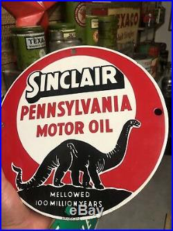 Rare Original Sinclair Pennsylvania Lubester Porcelain Plate 11