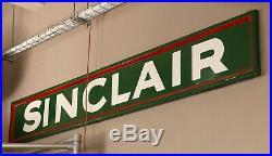 SinClair Sign 100% Original Ceramic, Porcelain Sign