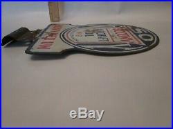 Socony NY Aircraft oil gas porcelain sign advertising petroliana advertising