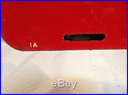 Very Nice Antique Champion Spark Plug Tin Sign Original not Porcelain 12x26