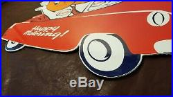 Vintage Esso Gasoline Porcelain 20 Automobile Gas Oil Service Pump Plate Sign