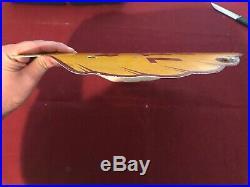 Vintage GOLDEN SHELL Gas & Oil CURVED PUMP PLATE Porcelain Advertising Sign RARE