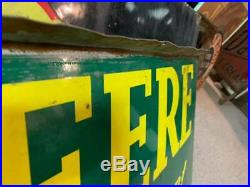 Vintage John Deere Farm Equipment Tractors Porcelain Sign GAS OIL SODA COLA 72