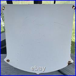 Vintage Mobilgas Special Gasoline Porcelain Sign Gas Pump Plate Mobil Oil Ad